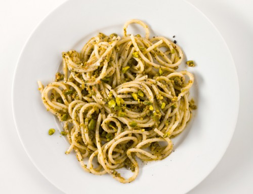 Pasta with Pistachio & Pesto